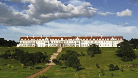 The iconic Turnberry Hotel