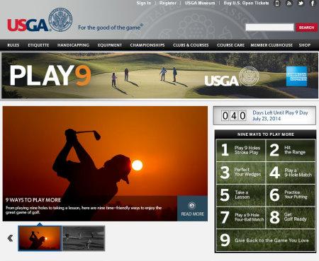 USGA Play Nine website