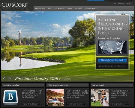 ClubCorp website