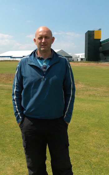 Links Manager at the Hoylake golf club, Craig Gilholm