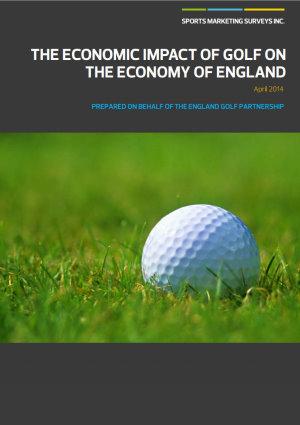 England Golf Partnership SMS INC Report cover
