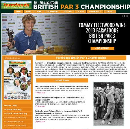 Farmfoords Par 3 Championship website