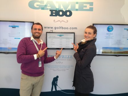 Ulrike Jurgens won a holiday of a lifetime recording fastest GameBOO 'booking' time of the week