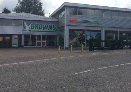 George Browns new branch