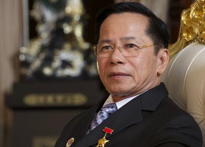 Vietnamese philanthropist Le Van Kiem.