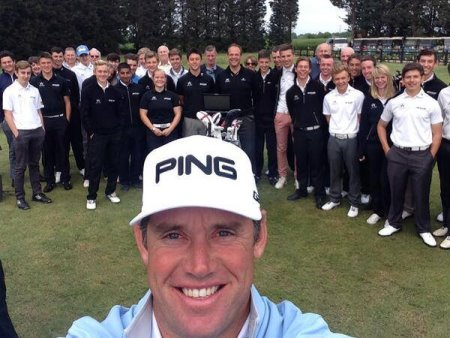 Lee Westwood Golf School