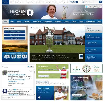 Open Championship website prize money