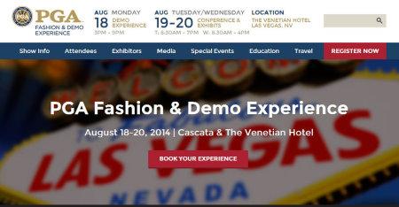 PGA Fashion & Demo Experience