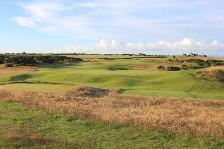 hole #9 at Royal Porthcawl Golf Club