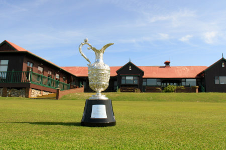 Senior Open trophy at Royal Porthcawl (Getty Images)