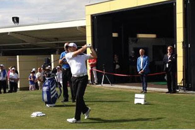 Sergio Garcia Opens TaylorMade Performance Lab at Golf Club, Germany
