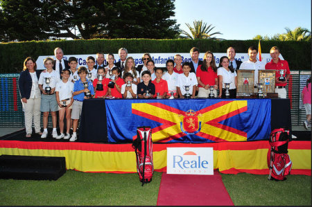 Spanish Childrens Championship at La Manga