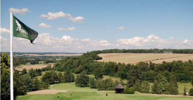 Temple Golf Club first tee