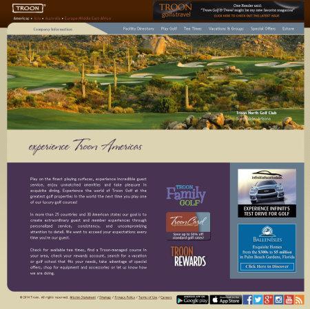 Troon website