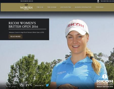 Woburn Ricoh website