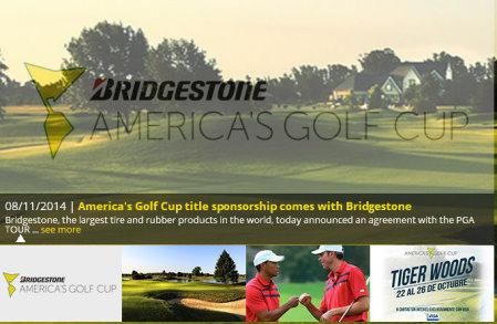 America Golf Cup website