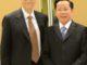 Bill Gates and Le Van Kiem