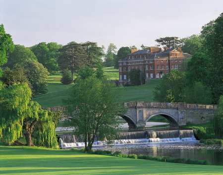 View from the 16th Green - Melbourne Course, Brocket Hall