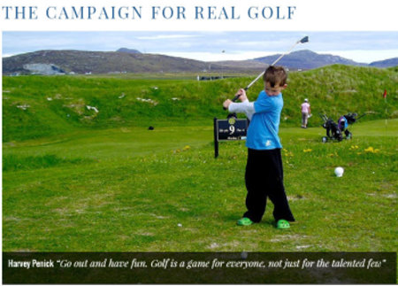 Campaign for Real Golf website