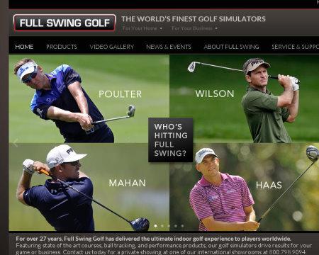 Full Swing website