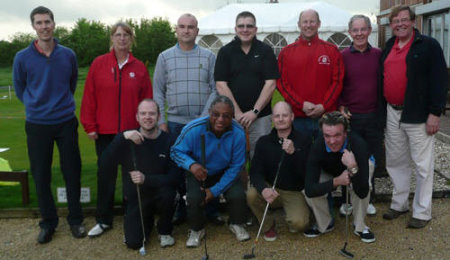 A get into golf group for deaf golfers at Sherdons