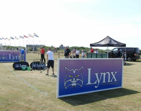 Lynx Public Range at Seniors Open