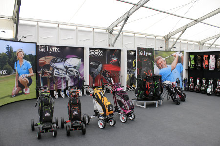 Lynx stand at Ricoh Women's British Open
