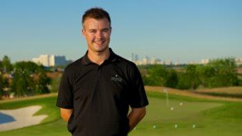 Nick Solski at Skolkovo Golf Club
