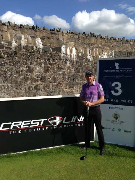 Chris McDonnell at the Northern Ireland Open