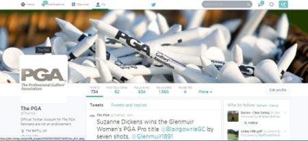 PGA Twitter