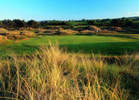 Panmure Golf Club, host of the World Hickory Open 2014  (Photo courtesy of www.carnoustiecountry.com)