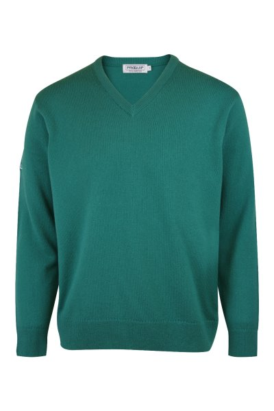 ProQuip Grove Green – Lambswool V-Neck