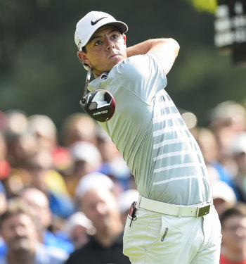 Rory McIlroy during the final round of the World Golf Championships-Bridgestone Invitational at Firestone Country Club on August 3, 2014 in Akron, Ohio. (Photo by Chris Condon/PGA TOUR)
