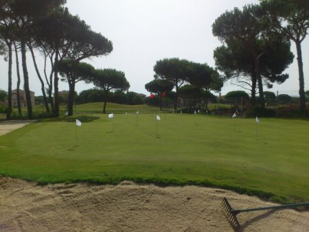 New short game practice area at Sancti Petri Hills