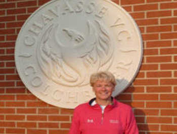 Sarah Bennett at Chavasse VC House