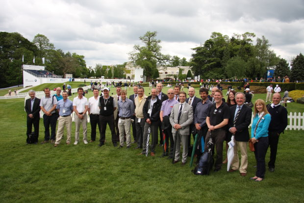 Winners, finalists & sponsors at Wentworth in May 2014