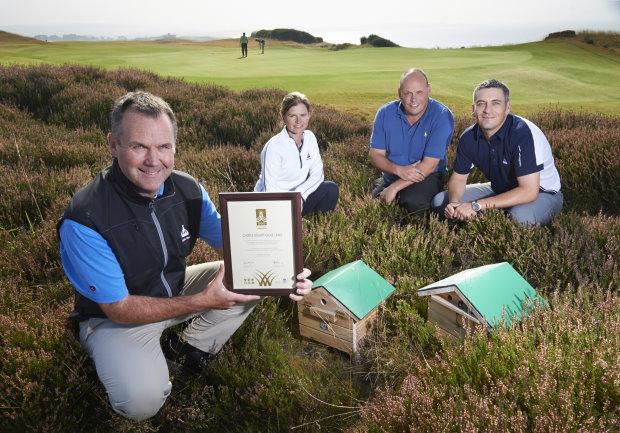 Castle Stuart Green Award, GEO Certified ecolabel