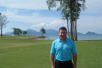 David Townend at the Els Club Teluk Datai