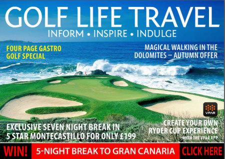Golf Life Travel September 2015