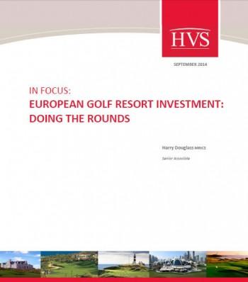 HVS London Golf report cover