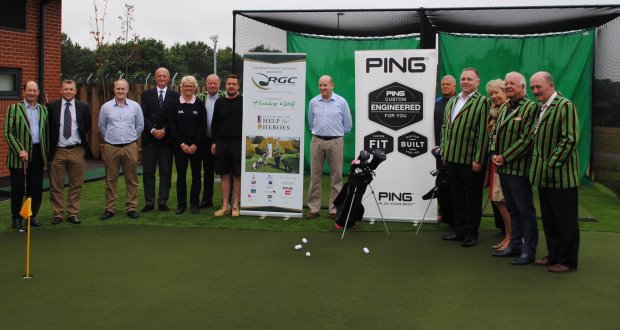 Huxley Golf Helps Heroes image 1.