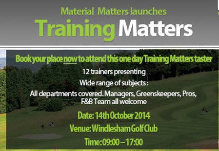Material Matters training day sml