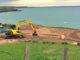 Nefyn_Golf Club: reconstruction of 'The Point'