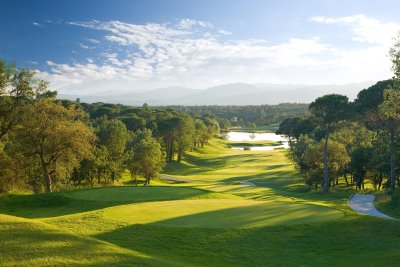 Stadium Course Hole 13 at PGA Catalunya Resort, nominated for Best Course in Spain in the 2014 World Golf Awards