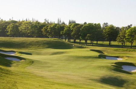 PGA Centenary Course 18th hole (courtesy of Gleneagles Hotel)
