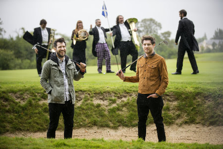 The Ryder Cup Gala Concert features the Royal Scottish National Orchestra and Glasgow rock band Twin Atlantic, seen here at The Carrick (VisitScotland)
