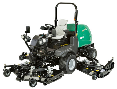 The new Ransomes MP493 wide area rotary mower