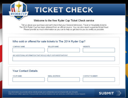 Ryder Cup ticker check