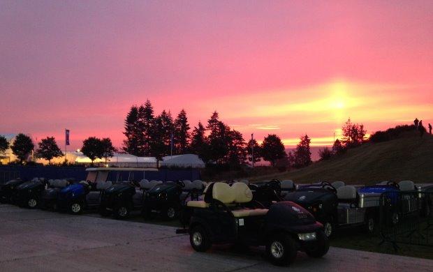 Sunrise at Gleneagles