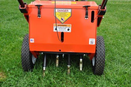 The new Plugger PL415 aerator from DJ Turfcare